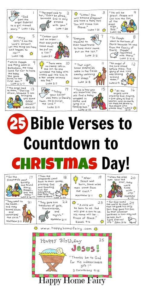 christmas bible verses for preschoolers bible verse advent countdown for free printable 664