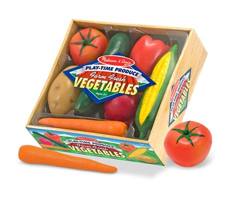 Amazoncom Melissa & Doug Playtime Produce Vegetables