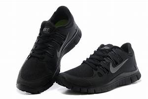 Nike Free 5.0 Mens All Black Running Shoes Sale Online Cheap