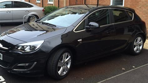 vauxhall black vauxhall astra 1 6 sri black 5dr my new car youtube
