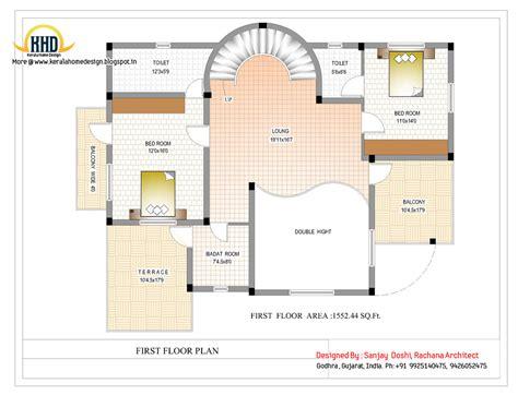 duplex house plan  elevation  sq ft home