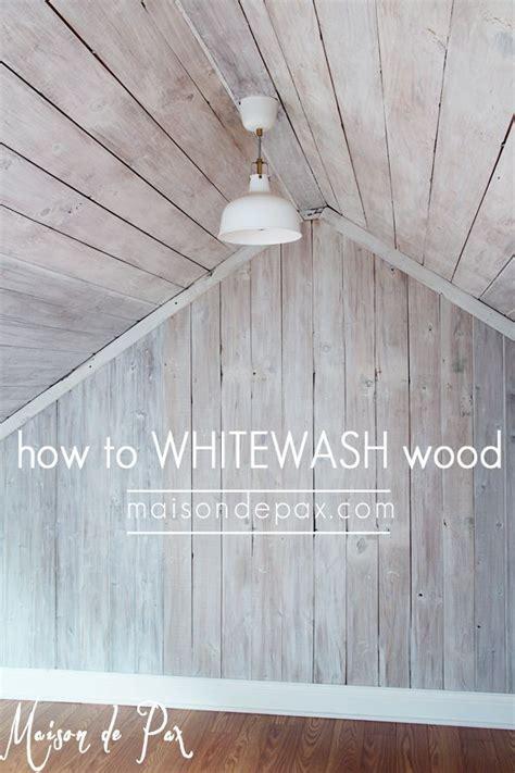 plank  wall diy shiplap whitewash wood diy