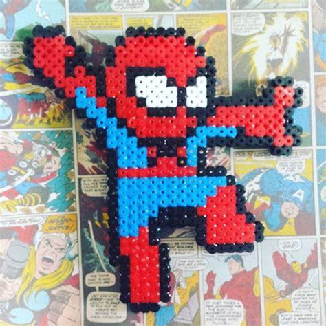 spiderman hama beads  kaaayliexo perler hama pinterest