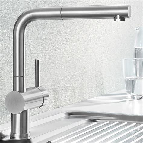 robinet cuisine solde blanco linus s mitigeur d 39 évier à douchette acier