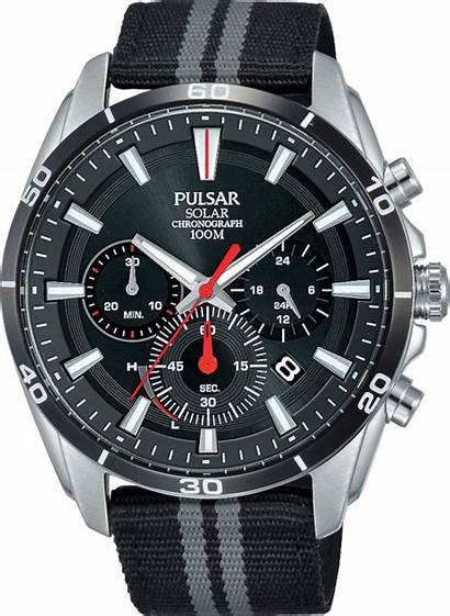 Pulsar Chronograph Stainless Steel