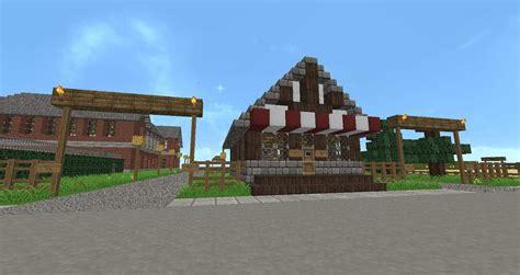 farm redwood wood minecraft barn horse stable farms building overview animal minecraftbuildinginc