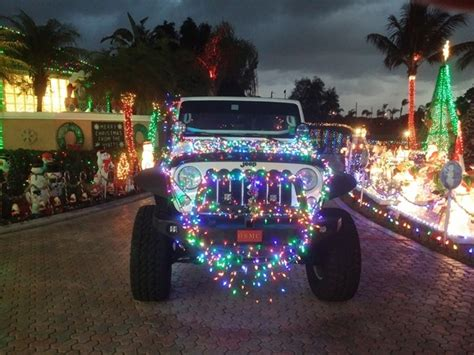 christmas jeep decorations merry christmas lets see your jeep decorations