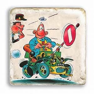 Plaque De Marbre Occasion : plaque de marbre de collection achille talon voiture et gendarme 20x20cm bd addik ~ Dode.kayakingforconservation.com Idées de Décoration