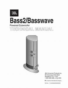 Jbl Basswave Service Manual
