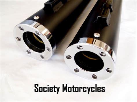 Street Glide Low Harley Davidson Revolver Slip-on Mufflers