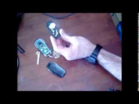 fusion key fob battery replacement youtube