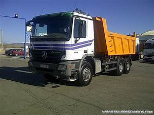 Volquete  Dumper Mercedes 3336k