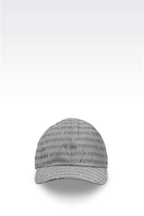 casquette armani
