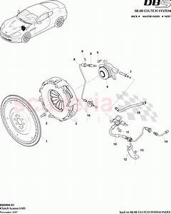 Aston Martin Dbs V12 Clutch System  Lhd  Parts