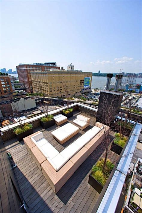 PH New York   Roof terrace design, Rooftop terrace design ...