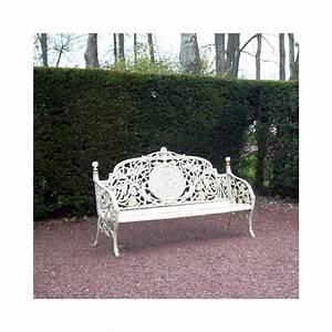 Banc De Jardin En Fonte : banc en fonte ~ Farleysfitness.com Idées de Décoration