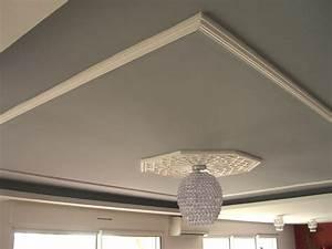 Corniche Plafond Platre : photos de plafond en pl tre plafond platre ~ Edinachiropracticcenter.com Idées de Décoration