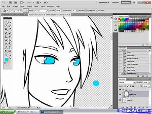 Anime Eyes Tutorial  Step By Step  Coloring  Drawing