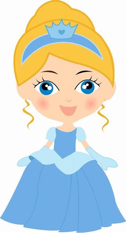 Cinderella Princess Clip Clipart Babies Disney Magic
