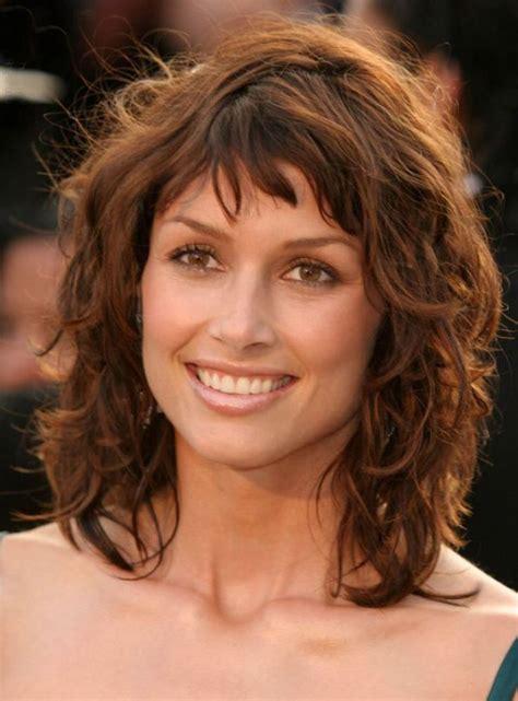 short  medium length curly hairstyles  curly hair
