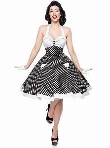 robe pin up retro annees 50 rockabilly belsira quotwhite With vêtements rockabilly femme