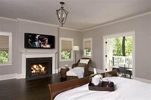 balboa mist benjamin moore bedroom traditional with
