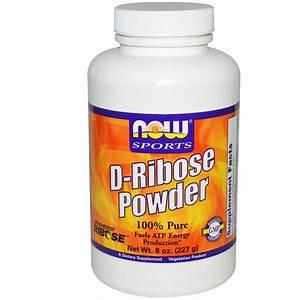 Now Foods, Sports, D-Ribose Powder, 8 oz (227 g) - iHerb.com