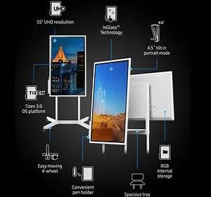 Qoo10 Samsung Flip Wm55h Smart Tech