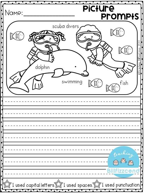 free writing prompt picture prompts writing for first grade this is also great for
