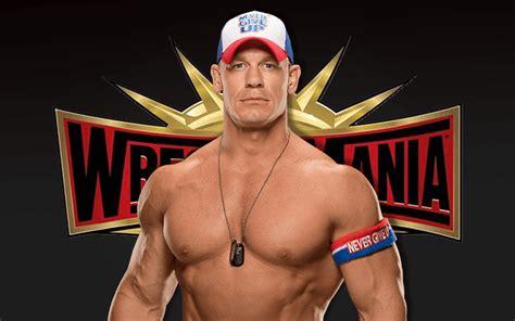 John Cena Confirms WrestleMania 35 Status