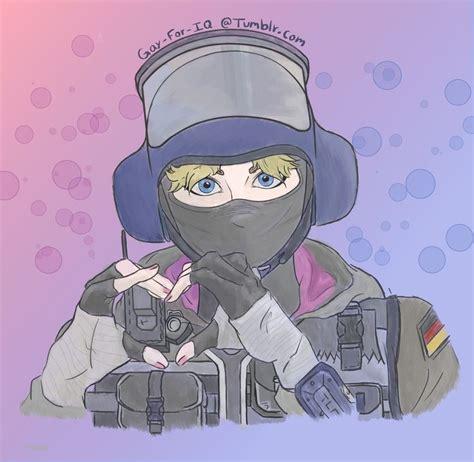 Cute Iq Rainbow Six Siege Art Rainbow Art Anime