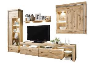 wohnzimmer kaufen bruni ideal möbel wohnwand 03 alteiche wohnzimmer kaufen