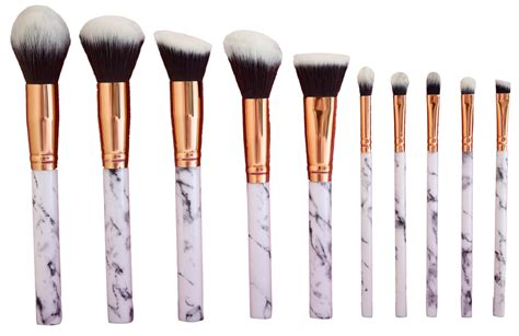 amazoncom marble makeup brush set marble eyeshadow