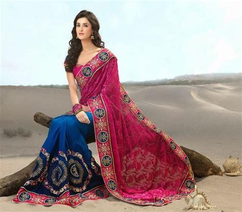 wedding maxi dresses stylish indian bridal sarees designs collection 2014 2015