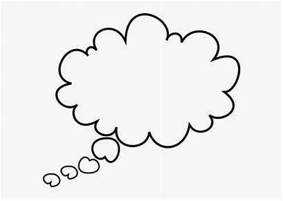 Thought Bubble Cloud Clipart Transparent Huh Kindpng