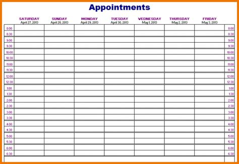 appointment book template salon appointment book template compliant icon appointments schedule cruzrich