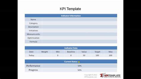 ready   kpi templates youtube