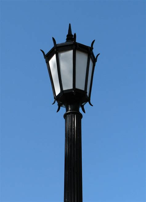Lamp Post | Free Stock Photo | A lamp post on a blue sky ...