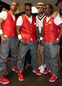 Ronnie Devoe and Ricky Bell Michael Bivins