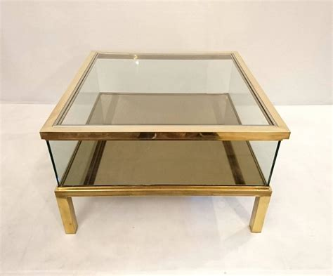 Sliding Top Coffee Table Glass And Brass For Sale At 1stdibs Black And White Coffee Queenstown Green Bean Extract Side Effects Mayo Clinic Heb Powder Benefits For Face With 1 Sugar Calories Logo In The Body Before Bed