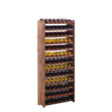 wooden wine rack wooden wine racks optiplus brown stain wooden wine