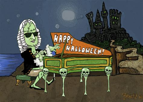 Baroque Artworks by Bachenstein Says Happy Halloween By Frostyhut Famous