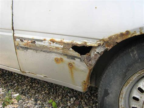 rust hole repair fix cars auto body mot worse before 1988 damage holes restoration lifetime tempo turns mystery ford vehicle