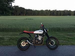 Honda Nx650 Scrambler By Moose Garage  U2013 Bikebound