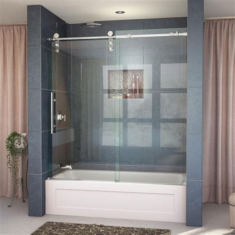 tub shower doors how to install sliding shower doors the home redesign