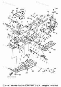 Yamaha Atv 2005 Oem Parts Diagram For Frame