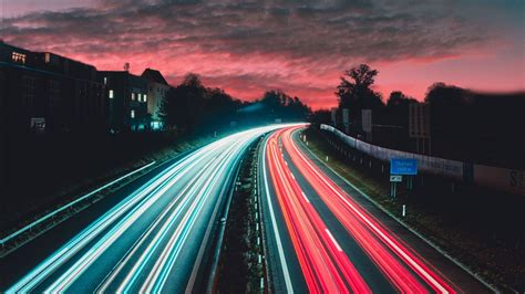 highway night traffic  wallpapers hd wallpapers id