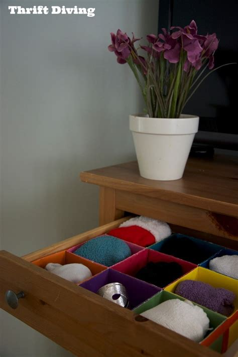 How To Make Your Own Drawer Organizer by Get Organized Make Your Own Diy Drawer Organizer