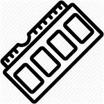 Ram Icon Pc Hardware Chip Memory Computer
