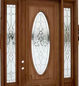 front door with glass | Exterior Door with Sidelights ...